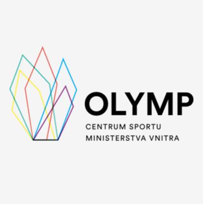 Logo OLYMP - Centrum sportu ministerstva vnitra