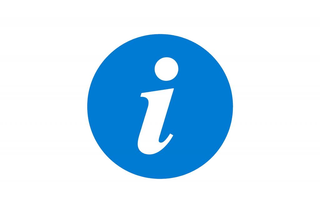 Foto - informace ikona