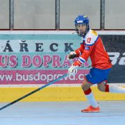 Tomáš Lhota – bronzový medailista ze Světového poháru hokejbalu hráčů do 16 let