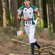 Zlatý a stříbrný medailista v orientačním běhu Jakub Chaloupský