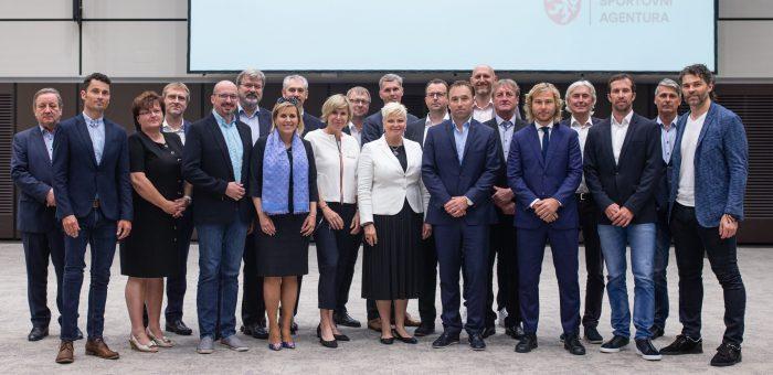 Momentka ze zasedání Národní rady pro sport (25.6.2020)